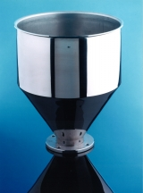 <h5>Stainless Steel Funnel</h5><p>Finished funnel used in the the food industry</p>